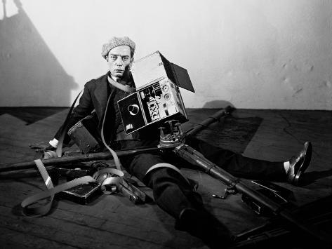 The Cameraman, 1928 Photographic Print