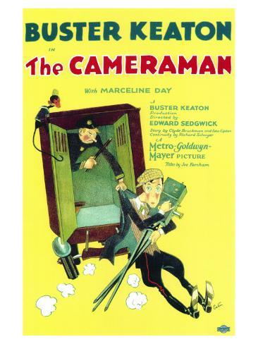 The Cameraman, 1928 Lámina giclée prémium