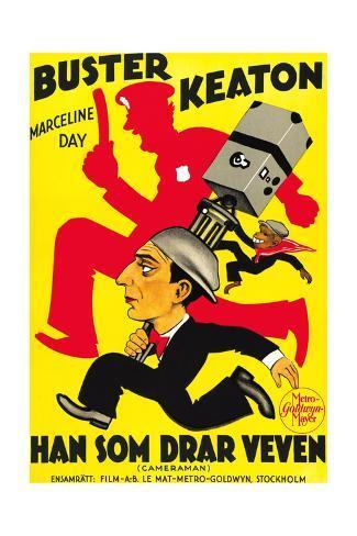 The Cameraman, Buster Keaton, 1928 Impressão giclée