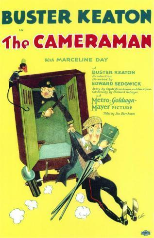 The Cameraman Masterprint