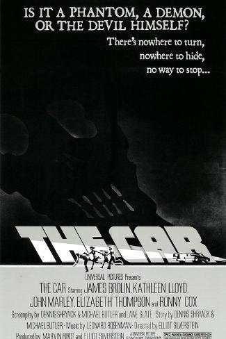 The Car, 1977 Art Print