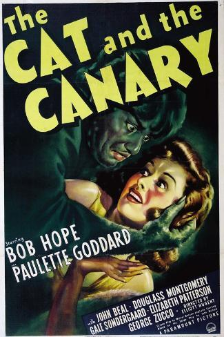 The Cat And the Canary, 1939, Directed by Elliott Nugent Impressão giclée