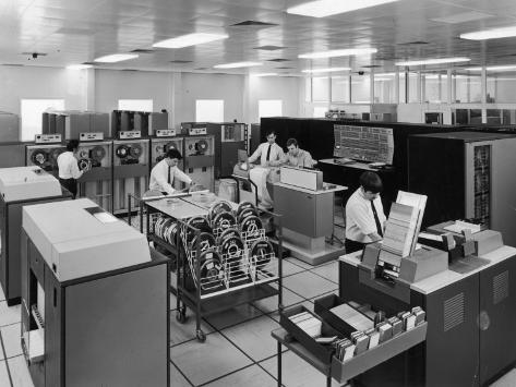 The Central Computer at Harwell Photographic Print