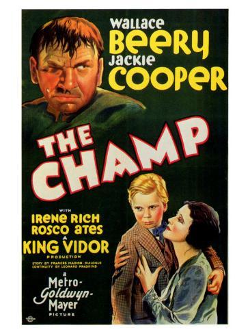 The Champ, 1932 Art Print