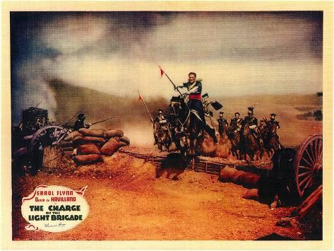 The Charge of the Light Brigade, 1936 Stampa artistica