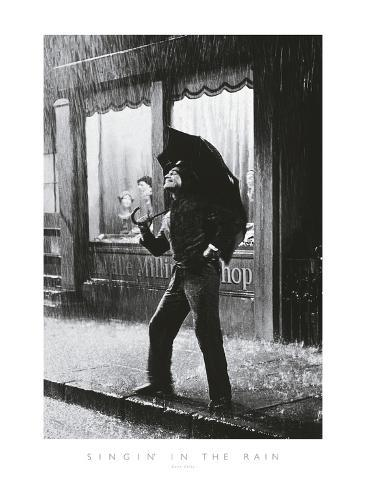 Singing in the Rain Giclee Print