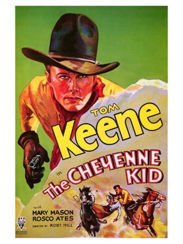 The Cheyenne Kid, 1933 Konstprint