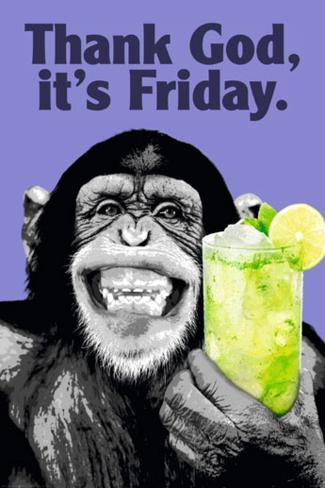 The Chimp-Friday Poster