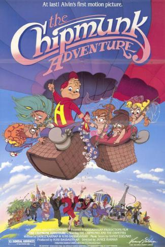 The Chipmunk Adventure Masterprint