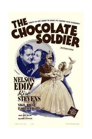 The Chocolate Soldier Art Print