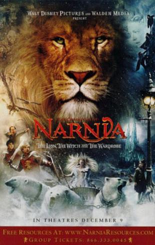 The Chronicles of Narnia (Lion, Witch, and the Wardrobe) Original Double-Sided Movie Poster Double-sided poster