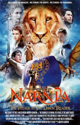 The Chronicles of Narnia - The Voyage of the Dawn Treader Stampa master