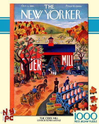 The Cider Mill 1000 piece Puzzle Jigsaw Puzzle