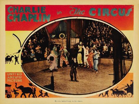 The Circus, 1919 Art Print