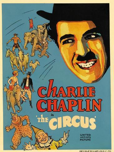 The Circus, 1928, Directed by Charles Chaplin Giclee Print