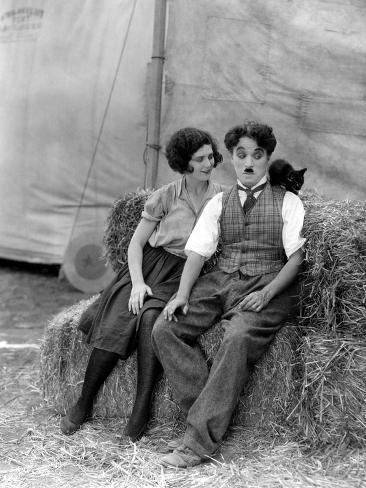 The Circus, Merna Kennedy And Charlie Chaplin, 1928 Photo