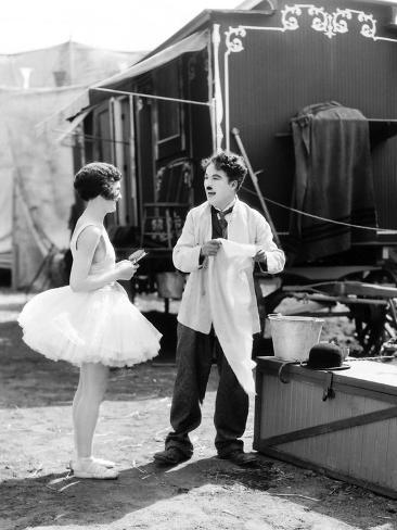 The Circus, Merna Kennedy, Charlie Chaplin, 1928 Photo