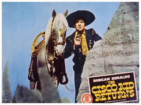 The Cisco Kid Returns, 1945 Art Print
