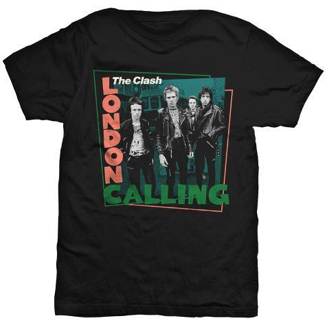The Clash - London Calling Street Scene T-Shirt