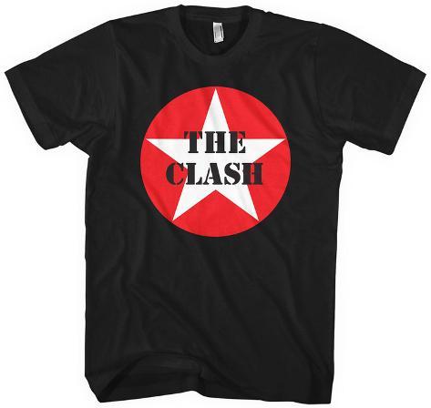 The Clash- Star Logo T-shirt
