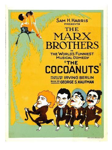 The Cocoanuts, the Marx Brothers, 1929 Fotografía