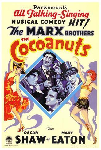 The Cocoanuts Poster