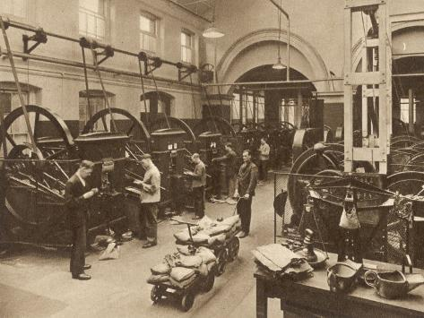 The Coining Presses are Capable of Striking Coins of Any Denomination Photographic Print