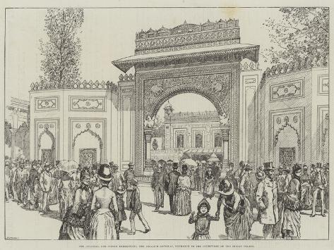 The Colonial and Indian Exhibition Giclee Print
