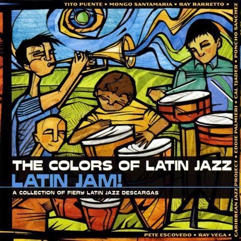 The Colors of Latin Jazz: Latin Jam! Art Print