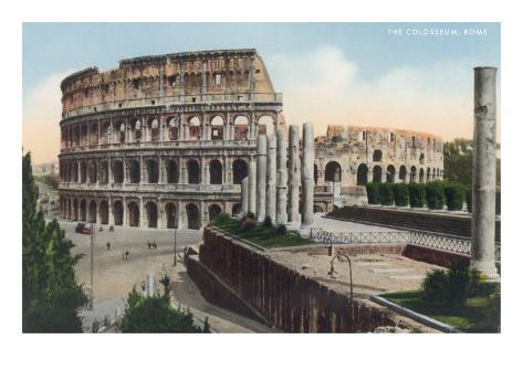 The Colosseum, Rome Art Print