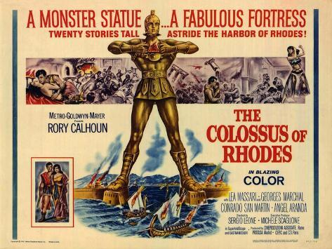 The Colossus of Rhodes, 1961 Art Print