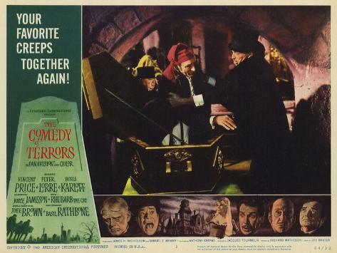 The Comedy of Terrors, 1964 Premium Giclee Print