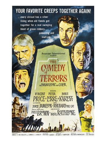 The Comedy of Terrors, 1964 写真