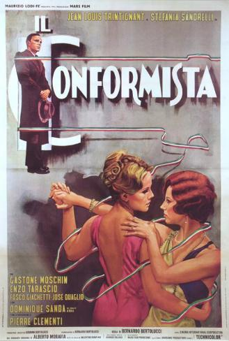 The Conformist - Italian Style Poster