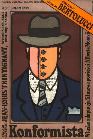 The Conformist - Polish Style Poster
