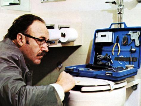 The Conversation, Gene Hackman, 1974 Fotografía