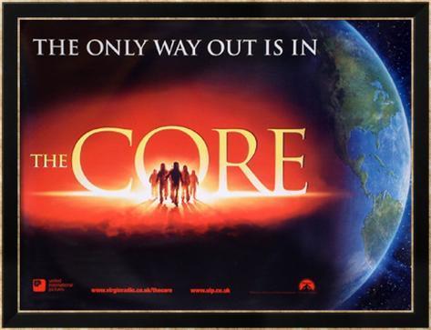 The Core Poster incorniciati