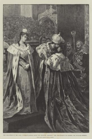 The Coronation of the Czar Giclee Print
