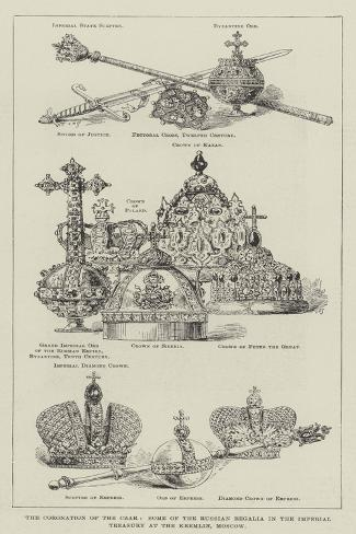 The Coronation of the Czar Giclee Print