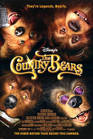 The Country Bears Double-sided poster