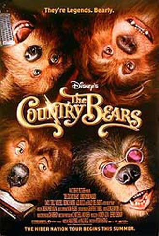 The Country Bears Originalposter