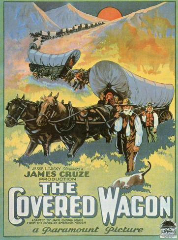 The Covered Wagon Masterprint