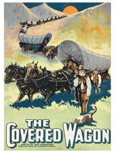 The Covered Wagon Art Print
