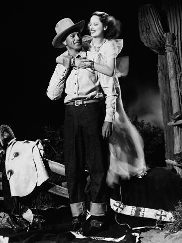 The Cowboy and the Lady, 1938 Photographic Print
