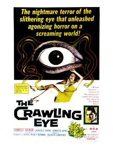 The Crawling Eye, 1958 Art Print