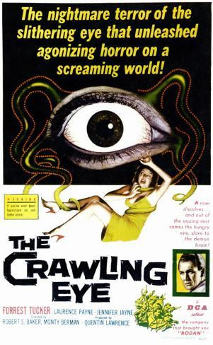 The Crawling Eye Masterprint