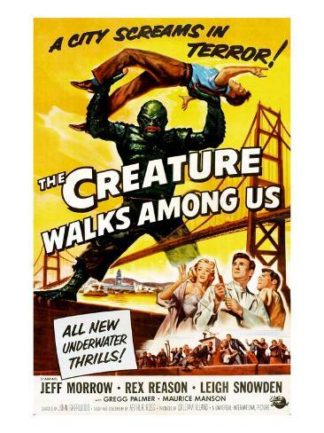 The Creature Walks Among Us, 1956 Foto