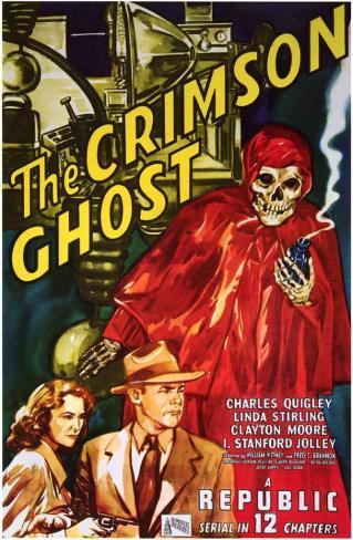 The Crimson Ghost Masterprint