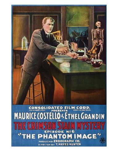 The Crimson Stain Mystery - 1916 II Giclee Print