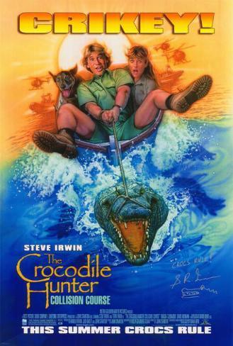 The Crocodile Hunter: Collision Course Masterprint